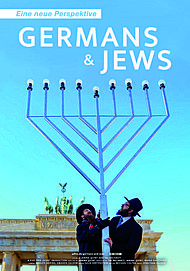 "Movie poster for ""GERMANS & JEWS"""