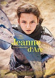 """Filmplakat für """"JEANNE D'ARC"""""""