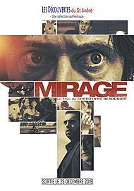 "Movie poster for ""MIRAGE"""