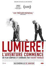 """Affiche du film """"LUMIERE, L'AVENTURE CONTINUE"""""""