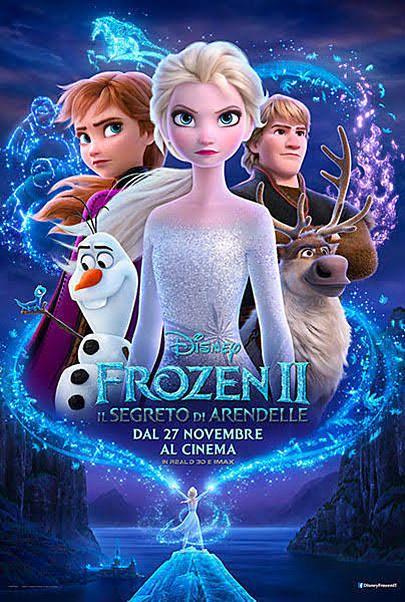 """Movie poster for """"FROZEN 2: IL SEGRETO DI ARENDELLE"""""""