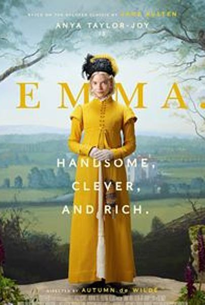 """Movie poster for """"EMMA (2020)"""""""