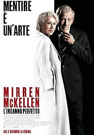"Movie poster for ""L'INGANNO PERFETTO (THE GOOD LIAR)"""