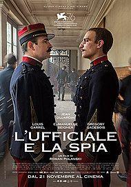 """Movie poster for """"L'UFFICIALE E LA SPIA"""""""