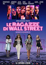 "Movie poster for ""LE RAGAZZE DI WALL STREET - BUSINESS I$ BUSINESS"""