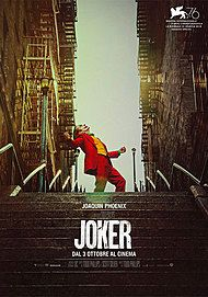 "Movie poster for ""JOKER"""