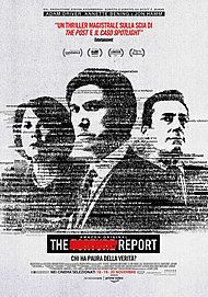 """Movie poster for """"THE REPORT"""""""
