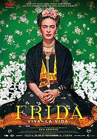 "Movie poster for ""FRIDA - VIVA LA VIDA"""
