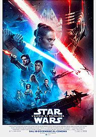 "Movie poster for ""STAR WARS: L'ASCESA DI SKYWALKER"""
