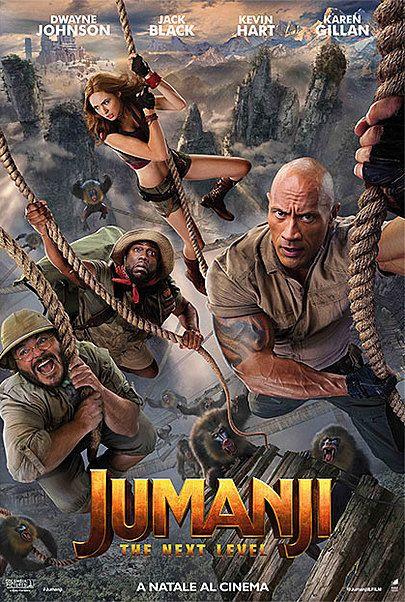 """Movie poster for """"JUMANJI: NEXT LEVEL"""""""