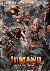 "Movie poster for ""JUMANJI: THE NEXT LEVEL"""