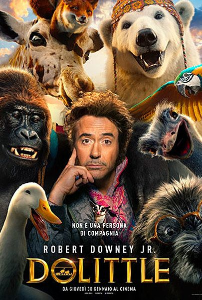 "Movie poster for ""DOLITTLE"""