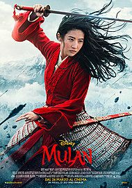 "Movie poster for ""MULAN"""
