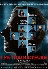 """Affiche du film """"LES TRADUCTEURS"""""""