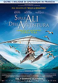 "Movie poster for ""SULLE ALI DELL'AVVENTURA"""