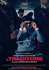 "Movie poster for ""IL TRADITORE"""