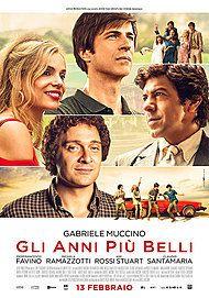 """Movie poster for """"GLI ANNI PIÙ BELLI"""""""