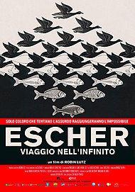 """Movie poster for """"ESCHER - VIAGGIO NELL'INFINITO"""""""