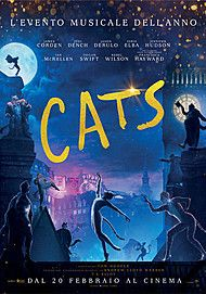 """Movie poster for """"CATS"""""""