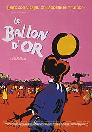 """Movie poster for """"THE GOLDEN BALL"""""""