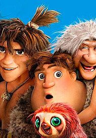 """Movie poster for """"I CROODS 2"""""""