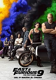 """Movie poster for """"FAST & FURIOUS 9"""""""