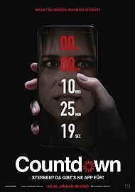 """Movie poster for """"COUNTDOWN"""""""