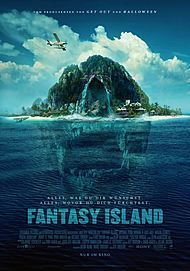 """Movie poster for """"FANTASY ISLAND"""""""