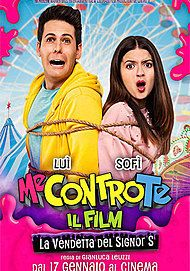 "Movie poster for ""ME CONTRO TE - LA VENDETTA DEL SIGNOR S"""