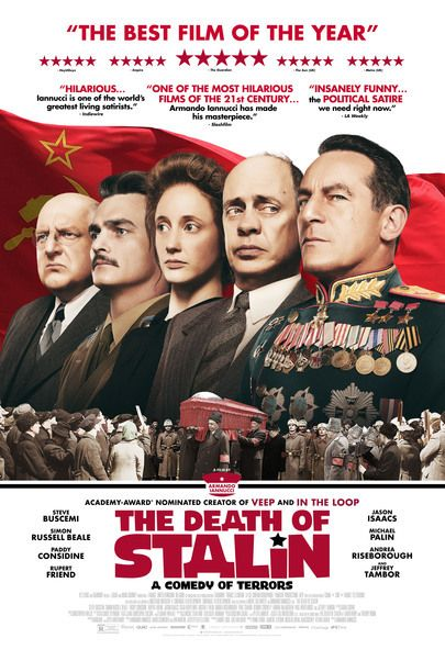"""Movie poster for """"THE DEATH OF STALIN"""""""