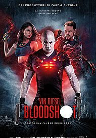 "Movie poster for ""BLOODSHOT"""