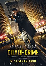 """Movie poster for """"CITY OF CRIME"""""""