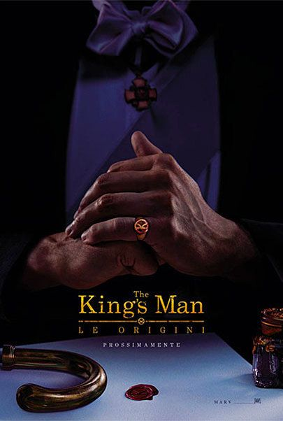 """Movie poster for """"THE KING'S MAN: LE ORIGINI"""""""