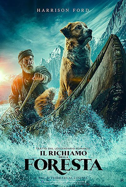 """Movie poster for """"IL RICHIAMO DELLA FORESTA"""""""