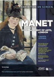 """Movie poster for """"MANET - From the Royal Academy of Arts London"""""""