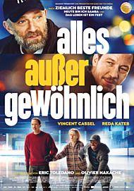 """Movie poster for """"Alles außer gewöhnlich - Filmstart in Österreich """""""