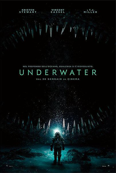 "Movie poster for ""UNDERWATER"""