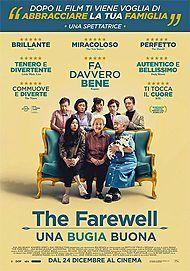 """Movie poster for """"THE FAREWELL: UNA BUGIA BUONA"""""""