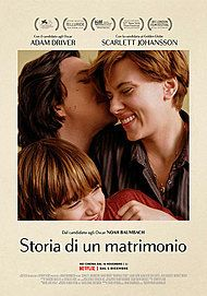 """Movie poster for """"MARRIAGE STORY """""""