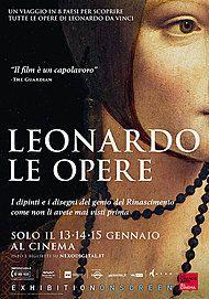 "Movie poster for ""LEONARDO: LE OPERE"""