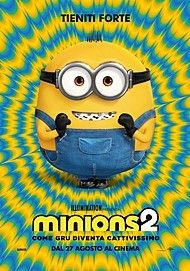 """Movie poster for """"MINIONS: THE RISE OF GRU"""""""
