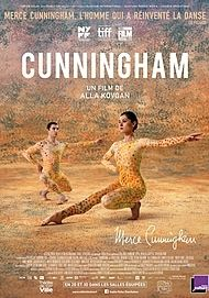 """Movie poster for """"CUNNINGHAM"""""""