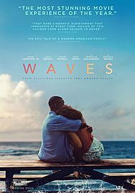 """Movie poster for """"WAVES"""""""