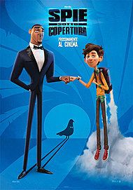 """Movie poster for """"SPIES IN DISGUISE"""""""