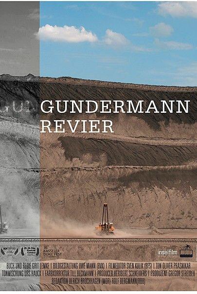 """Filmplakat für """"GUNDERMANN REVIER"""""""