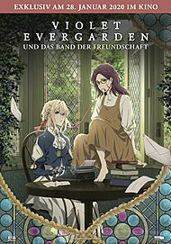 """Movie poster for """"VIOLET EVERGARDEN: ETERNITY AND THE AUTO MEMORIES DOLL"""""""