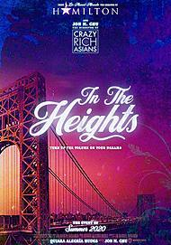 """Movie poster for """"IN THE HEIGHTS"""""""