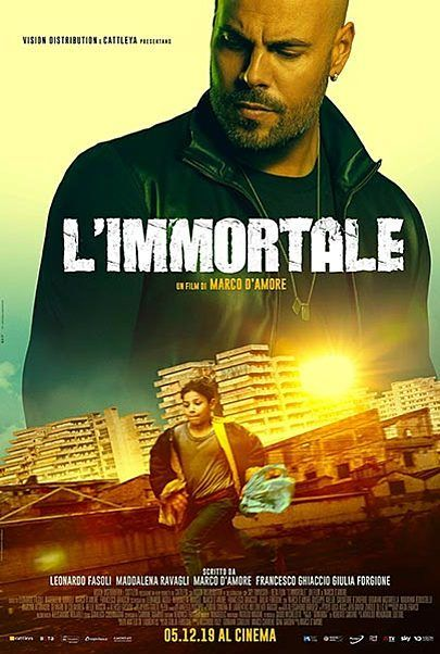 """Movie poster for """"L'IMMORTALE"""""""