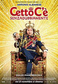 """Movie poster for """"CETTO C'È, SENZADUBBIAMENTE"""""""