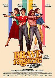 """Movie poster for """"BRAVE RAGAZZE"""""""